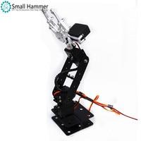 Aluminum Alloy Arduino 4 DOF Manipulator Steering Gear Bracket Mechanical Paws DIY Robot Parts
