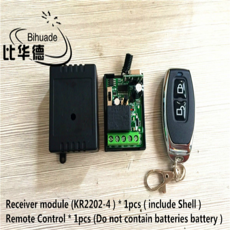 315Mhz Universal Wireless Remote Control Switch AC 220V 1CH Relay Receiver Module and RF 315 Mhz Remote Controls image
