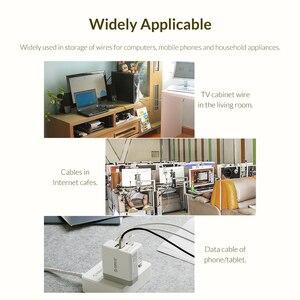 Image 5 - Cáp Nhà Tổ Chức Cáp USB Cuốn Gọn Chuột Dây Điện Dây AUX Dây HDMI Giá Rẻ Kẹp Quản Lý Điện Thoại Quanh Co Nhung Cáp