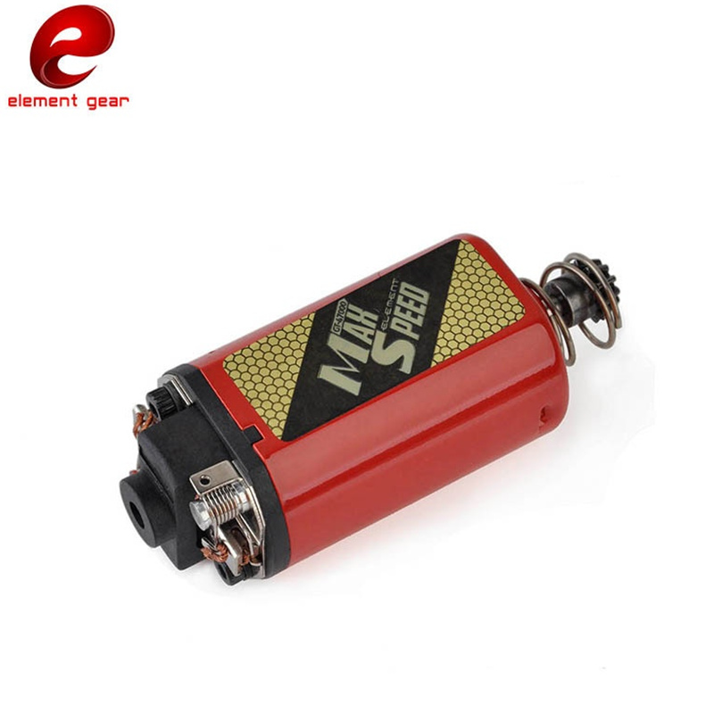 Element Airsoft tactique AEG vitesse maximale moteur court Type pistolet accessoires IN0916