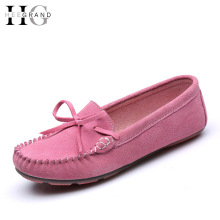 HEE GRAND Suede Loafers Soft Casual Shoes Woman Platform Moccasin Mother Creepers Slip On Flats Comfortable Women Shoes XWD4388