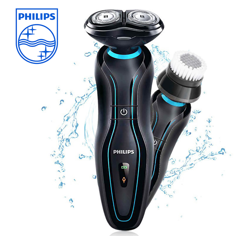 Philips Rechargeable Men's Shaver YS526 SmartClick ComfortCut heads 2-in-1 tool Multifunction Washable Razor with Oil Cleansing