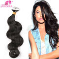 Fita Em Extensões Do Cabelo Humano de Remy 20 40 Peças Fita Adesiva em Extensões Do Cabelo Melhor Trama Da Pele Extensão Do cabelo 2.5g Corpo onda