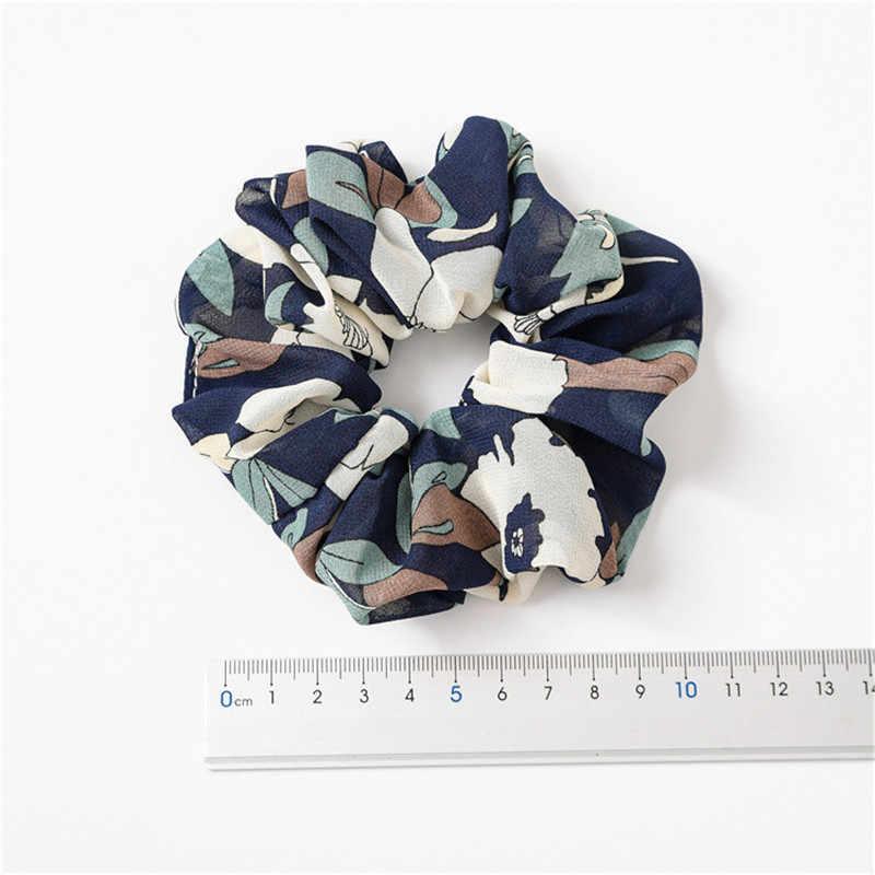 Ruoshui ผู้หญิงดอกไม้ Scrunchies ดอกไม้แหวนผมผูกผู้หญิงยืดหยุ่นอุปกรณ์เสริมผมเชือก Gum หญิงผู้ถือหางม้า