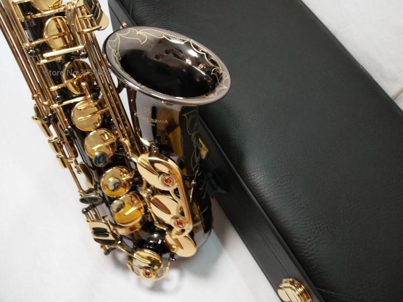Yanagisawa E flat Alto Saxophone Music Japan Yanagisawa A-991 alto saxophone playing musical instruments black professional sax alto saxophone new eb silver alto sax plated brass musical instruments professional saxophone alto sax e flat