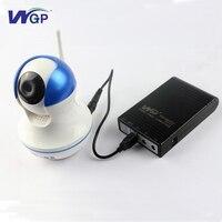 Portable 18650 alimentato a batteria ups in linea di uscita USB 5V1A uscita DC 9 V batteria al litio di backup di emergenza ups per la sicurezza fotocamera