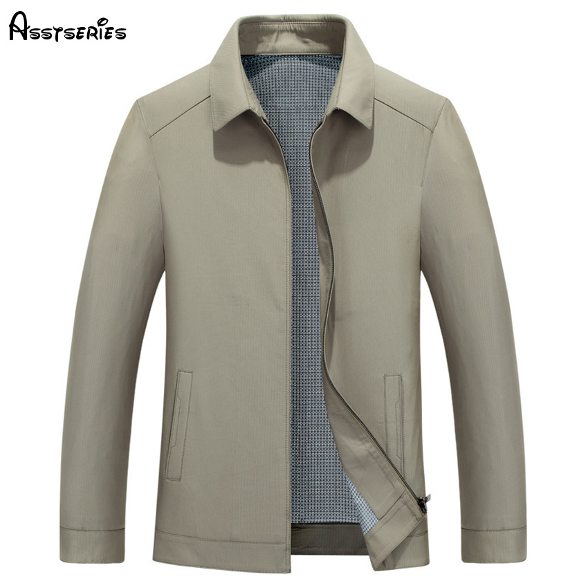 2018 Spring And Autumn Men Jackets Coats New Mid Aged Mens Lapel Jackets Leisure And Thin Jacket Top Quality D120 ...