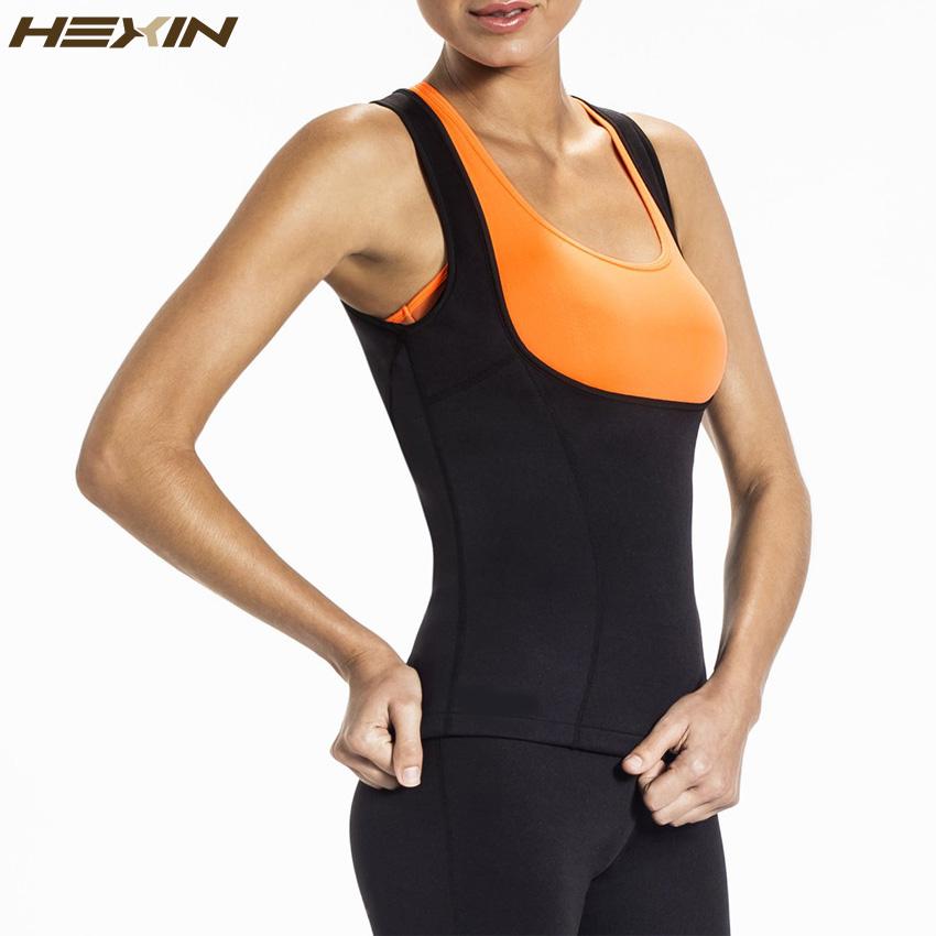 e31851d0a0900 HEXIN Neoprene Waist Trainer Vest Sauna Sweat Suit Tummy Control Workout  Shapewear with Sleeves Fajas Body Shaper Plus Size 6XLUSD 18.47 piece
