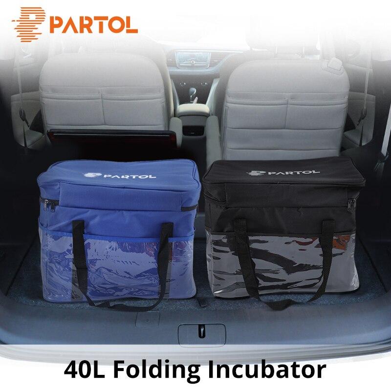 Partol Car Styling 40l Warmer Cooler Organizer Car Seat