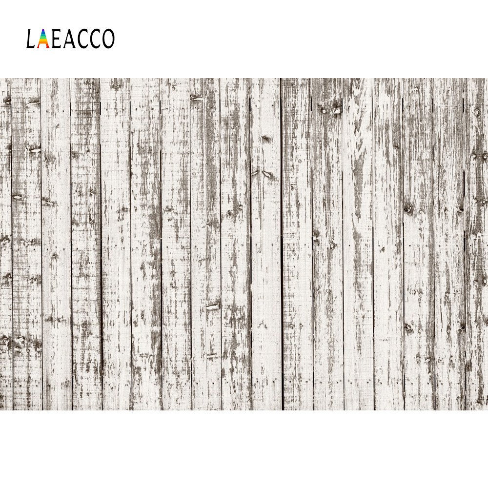 Laeacco Vintage Faded Wood Board Photo Backgrounds Customized Photography Backdrops For Studio