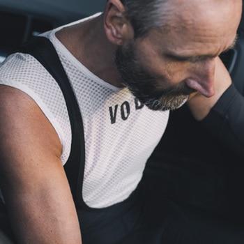 Ciclo di biancheria intima Pro maglia ciclo di strato di base senza maniche bicicletta ciclo traspirante strato di base degli uomini di deportes ciclismo ropa ciclismo