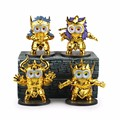 8Styles Minions Cosplay Saint Seiya Constellation New Model 10cm Action Figure Toys