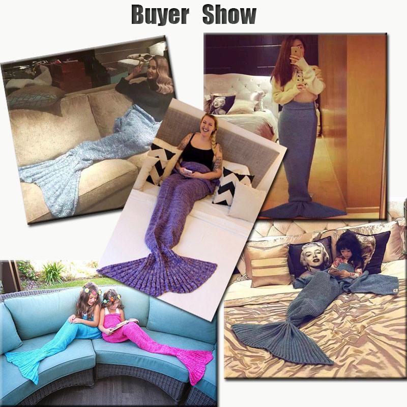 HTB1kqtTOXXXXXbzXXXXq6xXFXXX4 - Mermaid Blanket Handmade Knitted Sleeping Wrap PTC 70