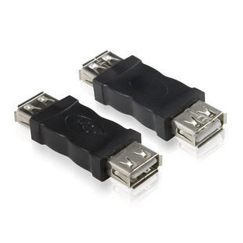 2PCS USB 2.0 Type A Female To A Female Coupler Adapter Connector F/F Converter Brand Newest Wholesale