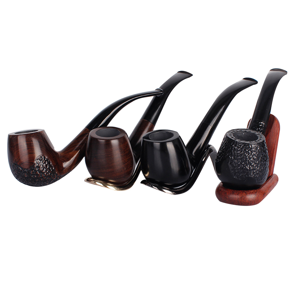 Four-Model Retro Picket Engraving Enchase Smoking Pipe Tobacco Cigarettes Cigar Pipes Present Sturdy Smoking Instruments HTB1kqtllnnI8KJjSszgq6A8ApXah