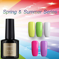 2017 Blue Place Fashion nail gel Colorful Holiday Spring Series Set For Shinning Color Nail Gel Polish Need UV Lamp Nail Art LED