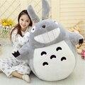 1 unids 55 CM famosos de dibujos animados Totoro juguetes de peluche sonriente suave juguetes de peluche alta calidad Dolls precio de fábrica decoración del hogar regalo