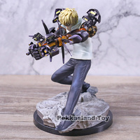 One Punch Man Genos Incineration Cannons Ver. Statue PVC Action Figure Collectible Model Toy