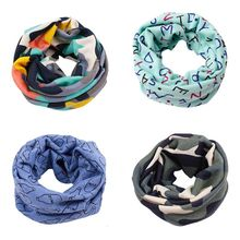 Spring Autumn  Scarves Collars Child Ring Scarf Winter Children's Cute Scarf Baby Bibs