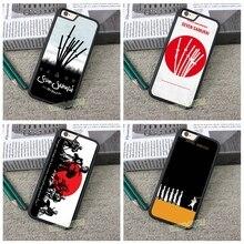Seven Samurai fashion mobile phone case cover for iphone 4 4S 5 5S 5C SE 6 plus 6s plus 7 7 plus H1531