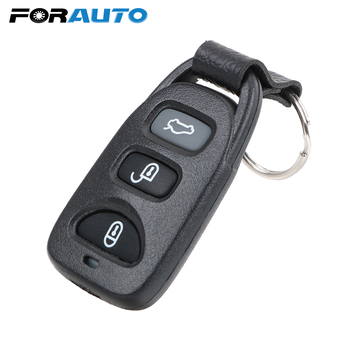 3 Buttons Car Key Shell Remote key shell Car keys With Battery Location For Hyundai Tuscon Accent Elantra Santa Fe image