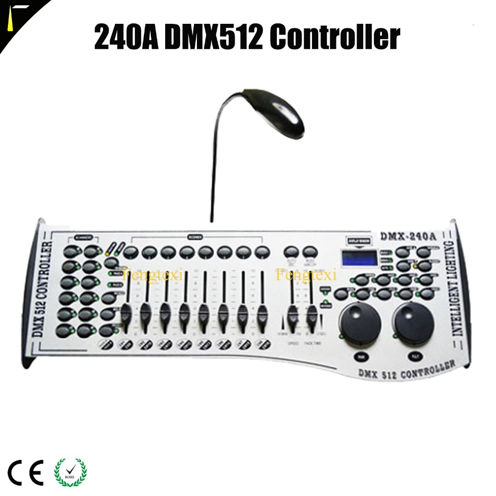 DMX Controller 240A dmx-240 Console Moving Head Dmx For ADJ Lights Lighting Dimming Controllers 100pcs lm2596s adj to263 lm2596sx adj to 263 lm2596 adj new and original free shipping