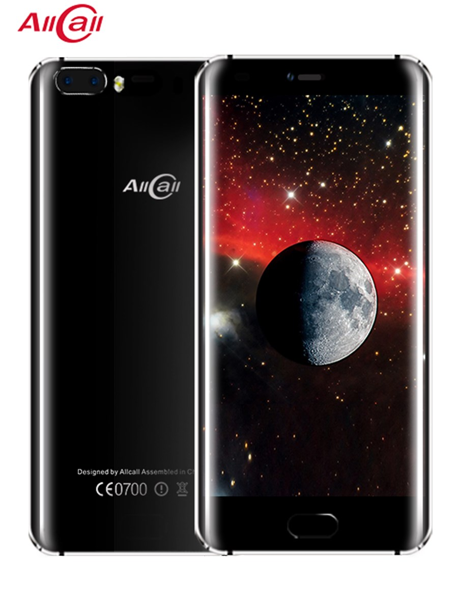 D'origine Allcall Rio 5.0 pouces IPS arrière cames Android 7.0 Smartphone MTK6580A Quad Core 1 GB RAM 16 GB ROM 8.0MP OTG 3G téléphone portable