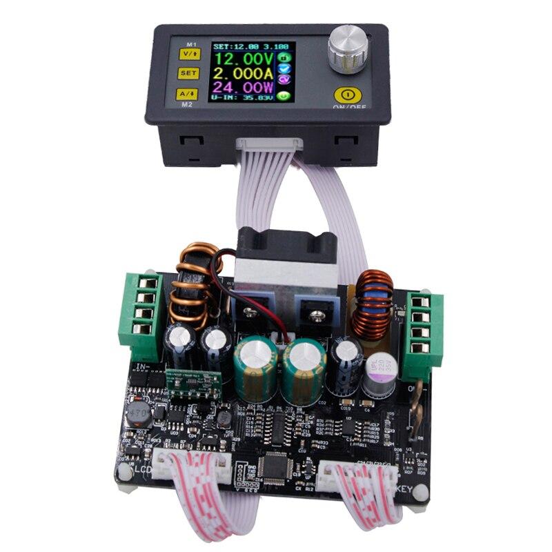 DPH3205 contrôlée buck boost réglable Constant Tension courant alimentation stabilisée tension réduire module Ampèremètre 50%