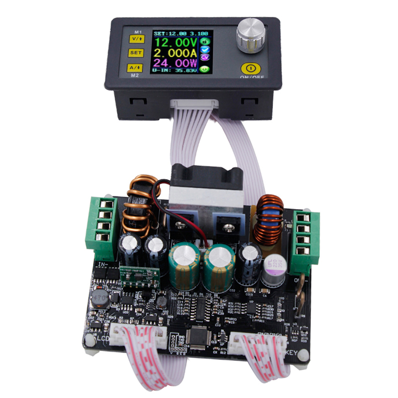 DPH3205 controlled buck boost adjustable Constant Voltage current stabilized power supply voltage reducing module Ammeter 50%