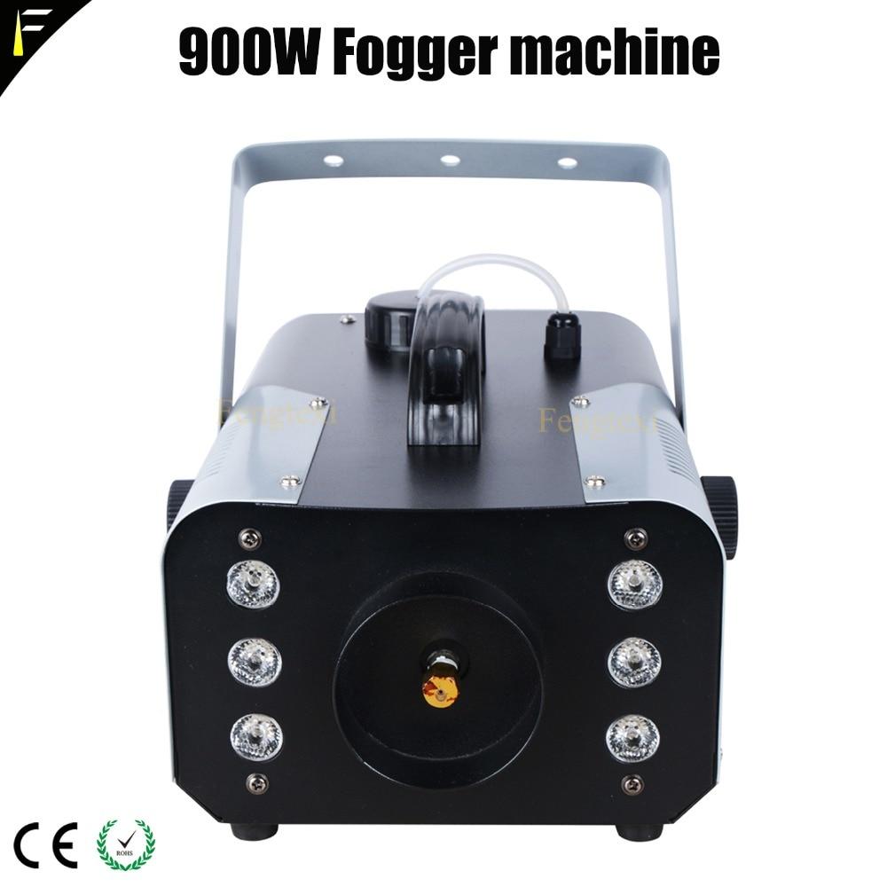 6x3 w LED RGB mélange brouillard Prop Machine 900 w fumée brouillard dispositif 10 mètres pulvérisation brumisateur pour scène de mariage jouer