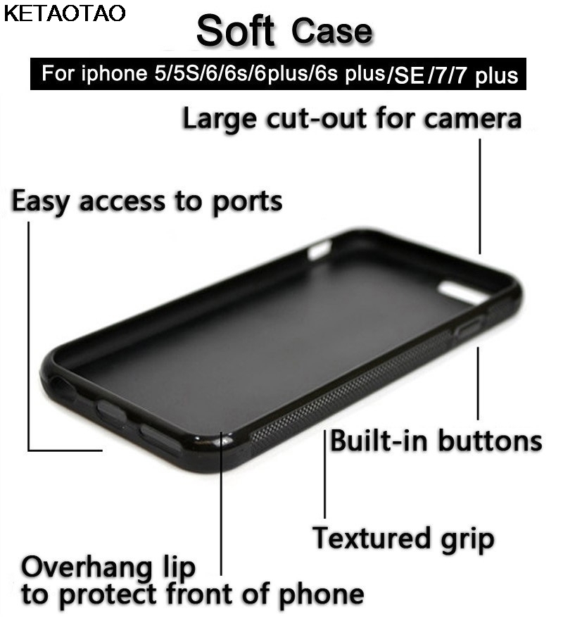 KETAOTAO historieta famosa grays anatomía Teléfono para iPhone 4S 5C ...