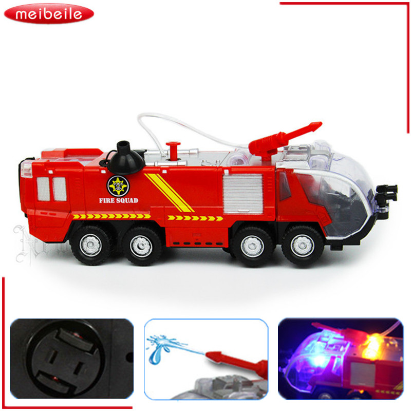 Childrens Toys Wholesale Electric Universal Fire Sprinkler Car Simulation Music Light Selling Goods