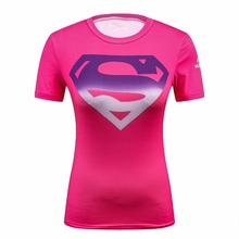 2019 Star Wars Cool Avengers Superhero Superman Captain America Casual T Shirt Women Compression Bodybuilding Shirt