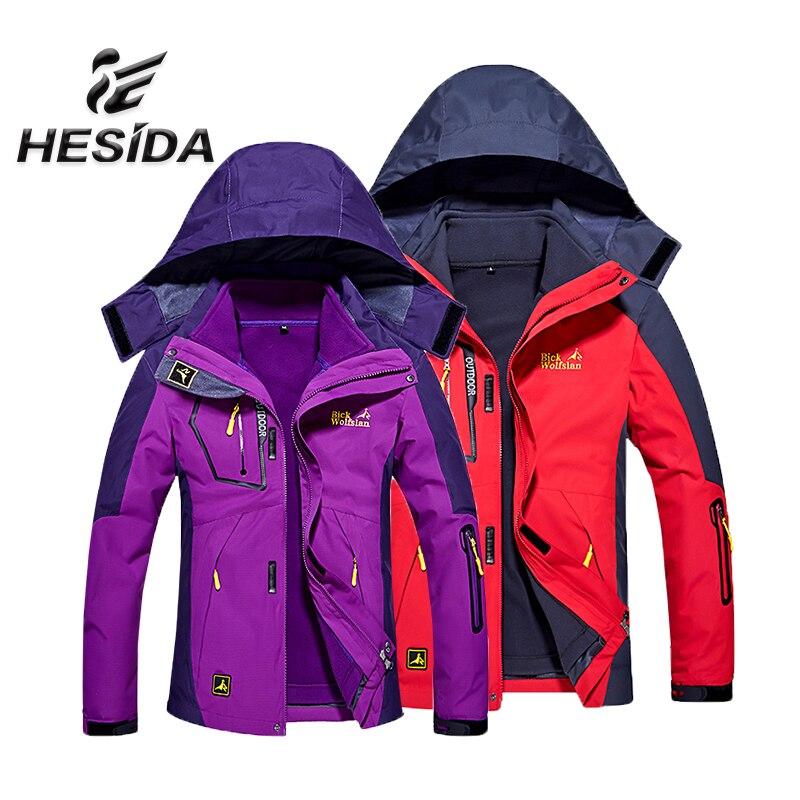Chauffée Veste Imperméable Thermique Vestes Hommes D'hiver En Plein Air Randonnée Coupe-Vent Chaquetas Hombre Camping Femmes Coupe-Vent Ski Manteau