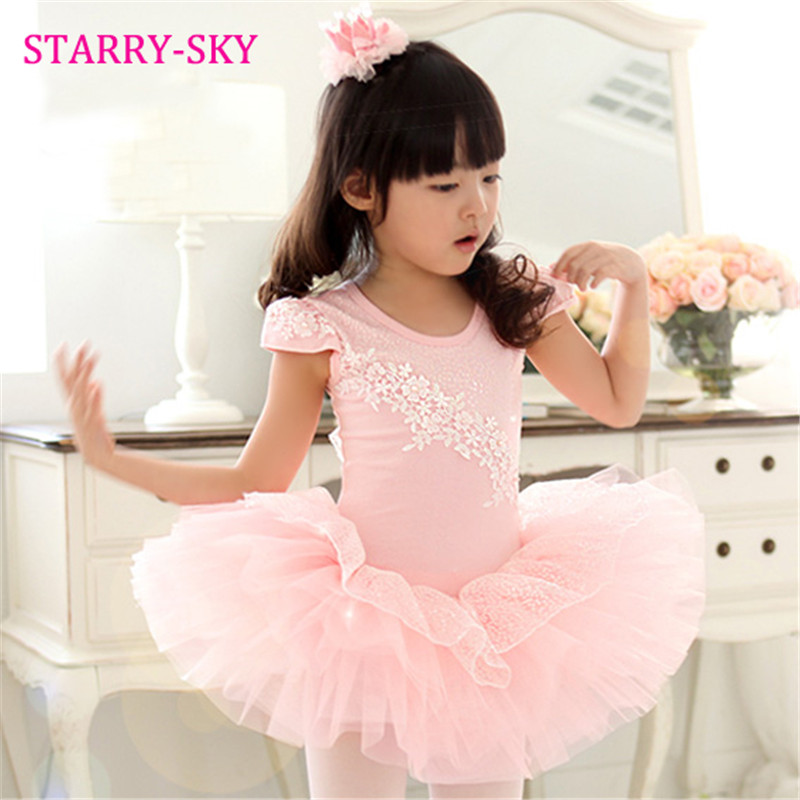 girls ballet dress for children dance clothing kids ballet