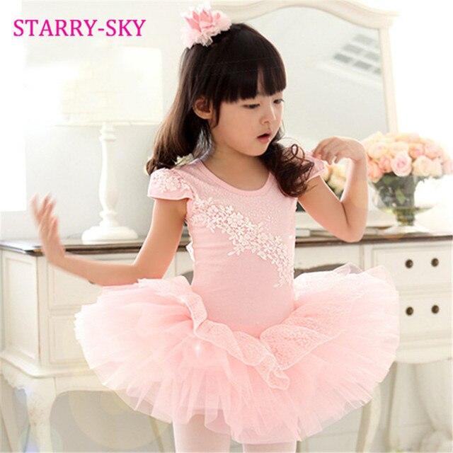 b8d47c213964 Girls Ballet Dress For Children Dance Clothing Kids Ballet Dresses ...