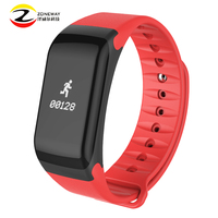 5pcs Smart Bracelet F1 Waterproof Silicone Material Wristbands Sports Intelligent Bracelet With Mobile Phone Calls Heart Rate