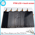 100% Original New Full Complete LCD Display+Touchscreen Digitizer For Lenovo P780 Tools, Free Shipping