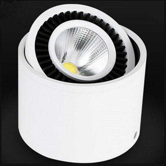 Veleprodajna cijena 360 stupnjeva okretna COB LED svjetla 7W 12W 20W - Unutarnja rasvjeta - Foto 1