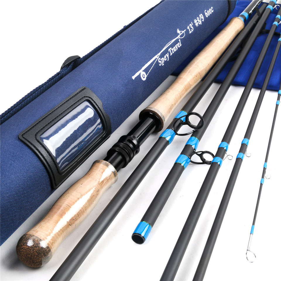 Maximumcatch Spey Fly Fishing Rod 6/7/8/9/10 WT 4/6pcs With A Cordura Rod Tube Spey Fly Rod maximumcatch spey fly fishing rod 12 5ft 13ft 6 7 8 9wt 4pcs with a aluminum rod tube spey fly rod