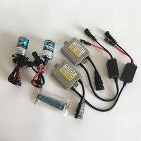 1 Set Xenon Lamp AC 35W Fast Bright H7 H4 Xenon Ballast H1 H3 H11 9005 9006 881 D2S 4300k 5000k 6000k 8000k Hid Kit Xenon Bulbs