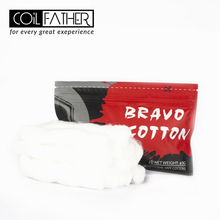 Coil Father Bravo Cotton Bacon for RDA RTA RDTA Atomizer Coil Wick Organic Cotton Electronic Cigarette Accessories for Vape