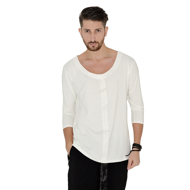 Current Latin Dance Tops for Male Black White Blue Shirt Standard Men Ballroom Competitive Professional Chacha Clothing N3015