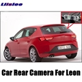 LiisLee Car Camera For SEAT Leon 1P 5F MK2 MK3 2006 ~2017 High Quality Rear View Back Up Camera For Fans   CCD + RCA
