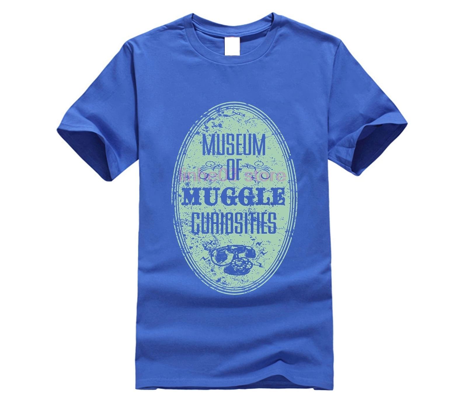 harry men shirt Museum of Muggle Curiosities T-Shirt (2) potter top tee 19