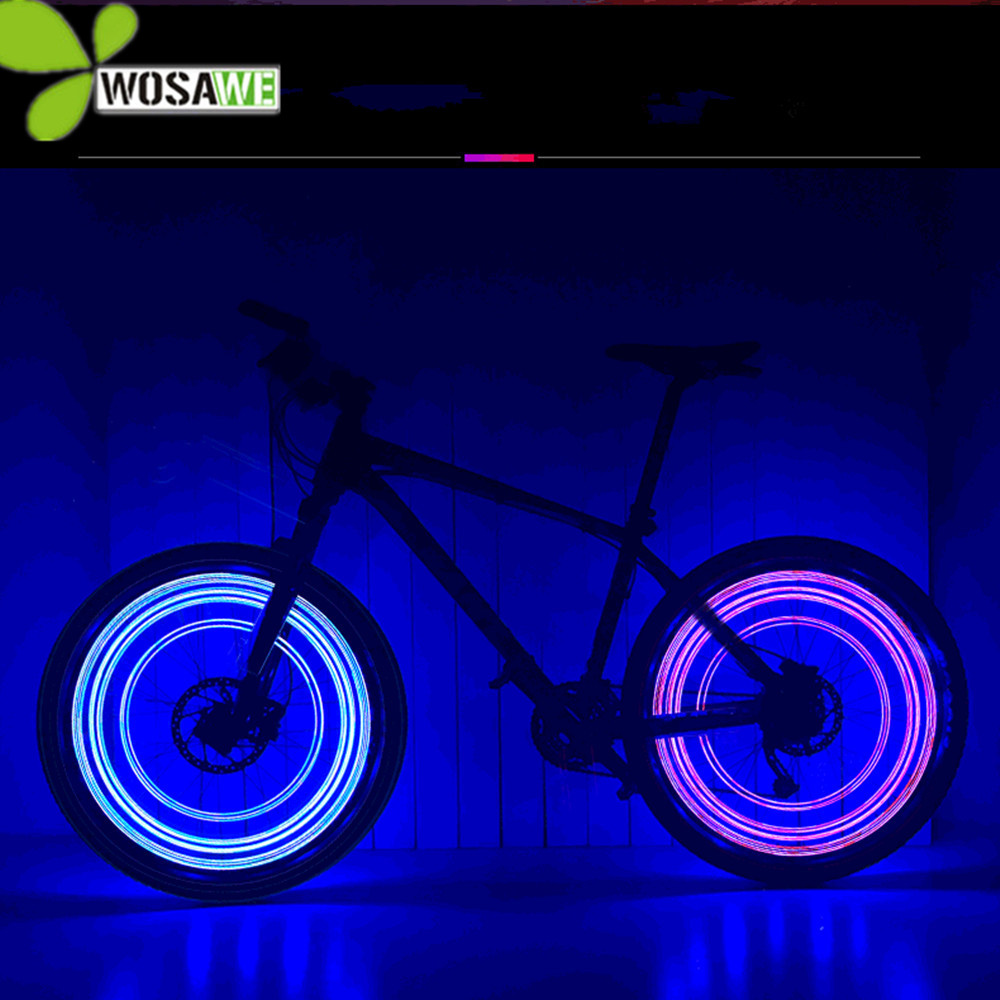 LEADBIKE bicycle accessory bike lights 20 beads LED AA battery colorful wheel light cycling equipments night riding accessories leadbike a44 bike handlebar phone bag