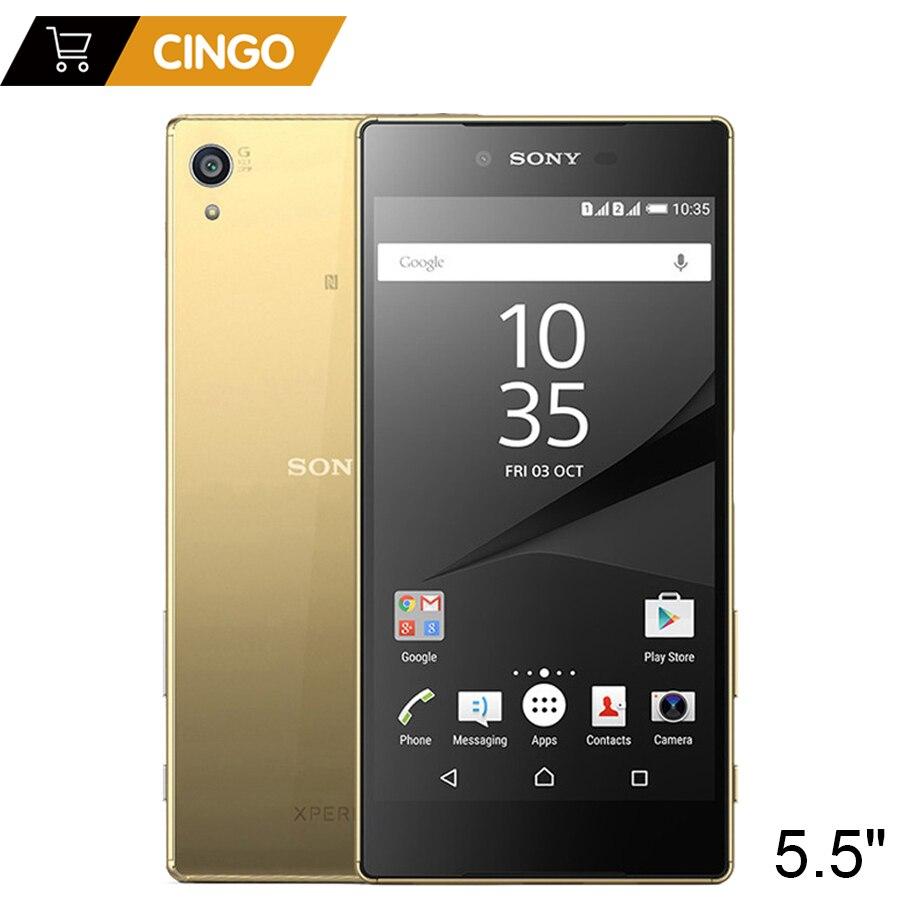 Фото. Оригинальный разблокирована sony Xperia Z5 Премиум E6853 4G LTE одной сим 3 GB Оперативная память 32