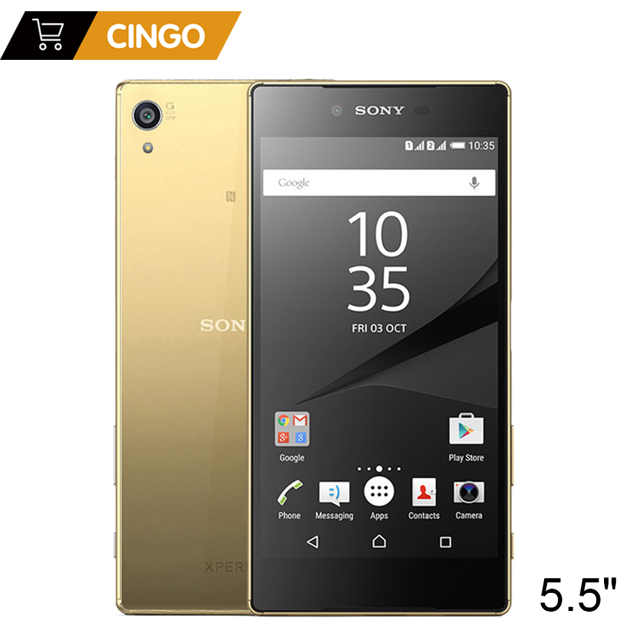 Original Unlocked <font><b>Sony</b></font> <font><b>Xperia</b></font> <font><b>Z5</b></font> Premium <font><b>E6853</b></font> 4G LTE Single SIM 3GB RAM 32GB ROM 5.5