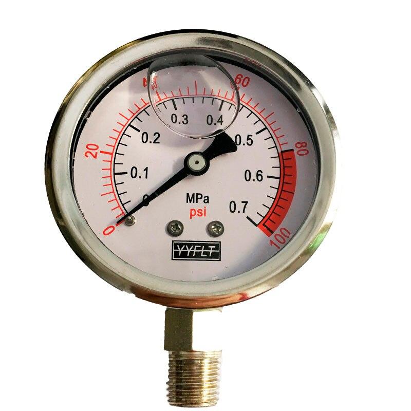 Factory Wholesale Durable Shock Proof Oil Pressure Gauge