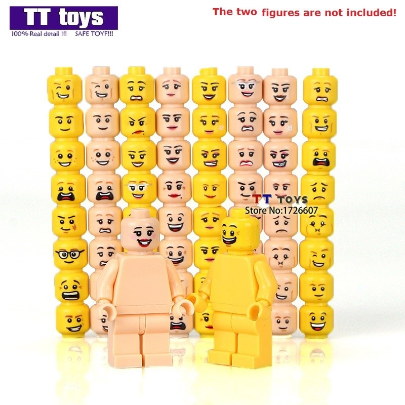 "Bricks walls modular sand /""Tan/"" ID 3004//4109995 50 NEW LEGO 1x2 Brick Yellow"